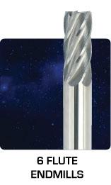 Standard 6 Flute Endmills
