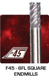 F45 - Square Endmills