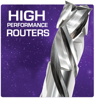 High Perfomance Routers for Wood and Plastic