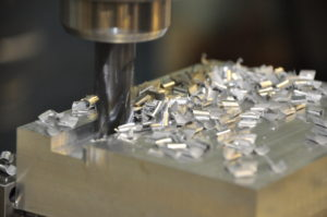 Machining Aluminum Background
