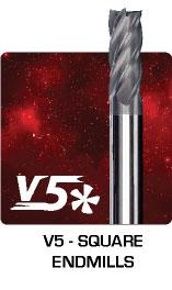 V5 Square Endmills
