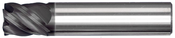 HY5 Corner Radius High Performance Endmill
