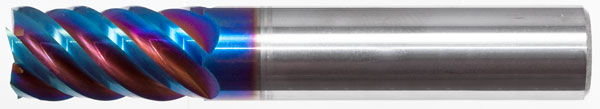Ultra HY5 5 Flute Performance Square Endmill