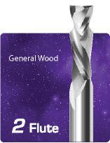 2 Flute Compression for General Wood