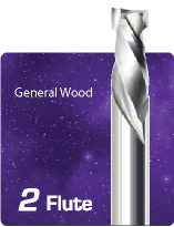 2 Flute Mortise Compression - High Wear for General Wood