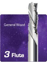 3 Flute Downcut Chipbreaker Finisher - General Wood