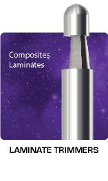 Laminate Trimmers for Laminates and Composites