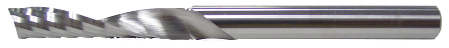 1 Flute O Flute Upcut Spiral