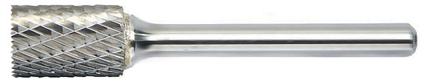 SB - Cylindrical with Endcut Shape - Solid Carbide Burs