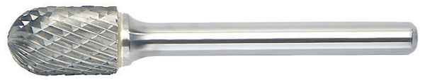 SC - Radius Cylinder Shape - Solid Carbide Burs