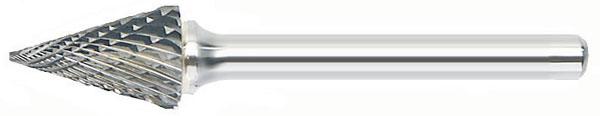 SM - Pointed Cone Shape - Solid Carbide Bur
