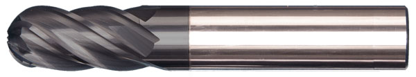 V4 Ball High Performance Endmill