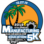 2019 Manufacturing Run or Walk For Education 5K